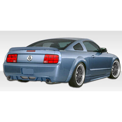 $419 • Buy Circuit Rear Bumper Cover 1 Piece Fits Ford Mustang 05-09 Duraflex
