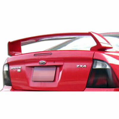 4DR SE Wing Trunk Lid Spoiler 1 Piece Fits Ford Focus 00-07 Duraflex • 238$