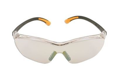 Clear Safety Glasses Goggles / Clear Mirrored Lens Uv385 Modern Design • 7.36£
