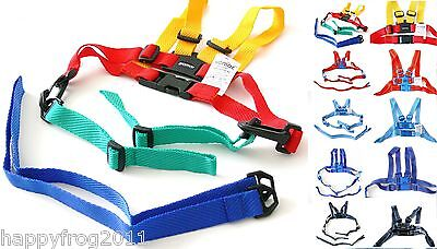 SAFETY HARNESS Baby Kid Toddler Learning Assistant Moon Walk Walker Reins UK • 7.49£
