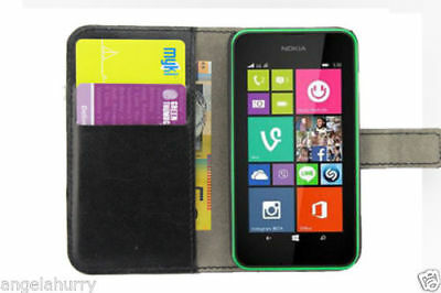 AU4.44 • Buy Premium Credit Wallet Leather Case Cover For Nokia Lumia 925