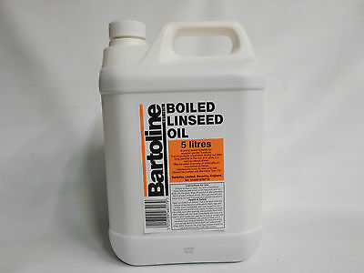 5 Ltr Bartoline Boiled Linseed Oil - 5 L -  • 23.99£