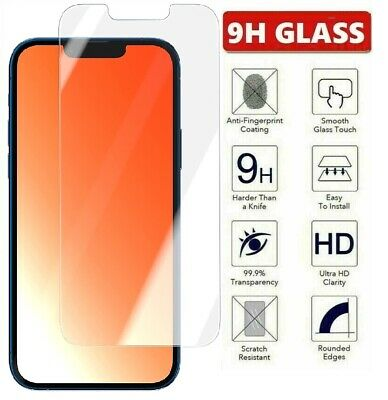 AU6.99 • Buy For IPhone 13 12 11 Pro Xr Xs Max 7 8 6S Plus SE Tempered Glass Screen Protector