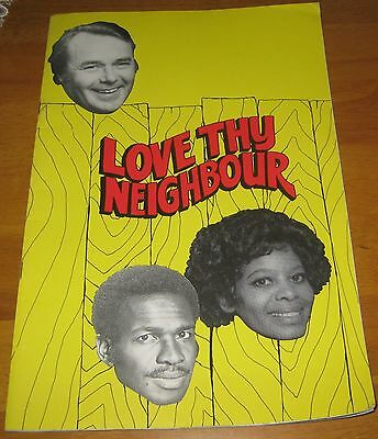 AU20 • Buy Love Thy Neighbour Theatre Programme 1978