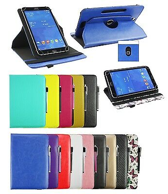 £7.49 • Buy PU Leather Flip Case Cover Rotating Stand Wallet For 9  - 10  Tablet & Stylus