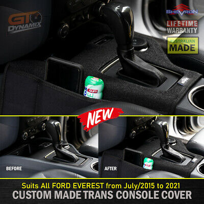 AU87.95 • Buy Shevron Transmission Console Cover For Ford Everest UA Titanium Trend 7/2015-21