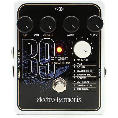 $ CDN296.14 • Buy New Electro-Harmonix B9 Organ Machine Effects Pedal For Guitar And Keyboard