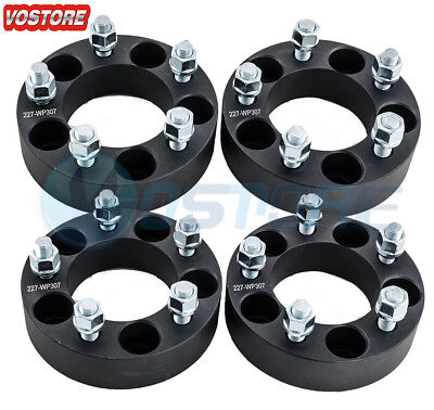 $72.50 • Buy 4 Pcs 1.5  Wheel Spacers Black | 5x4.5 | Fits Ford Edge Mustang Lincoln Mercury