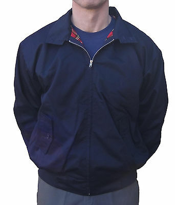 Navy Relco Harrington Jacket Skinhead Mods Scooter Retro Northern Soul Ska  • 33.99£