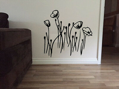 Tulip Flower Floral Wall Sticker Art Vintage Shabby Chic Décor Room (FL8) • 35.99£