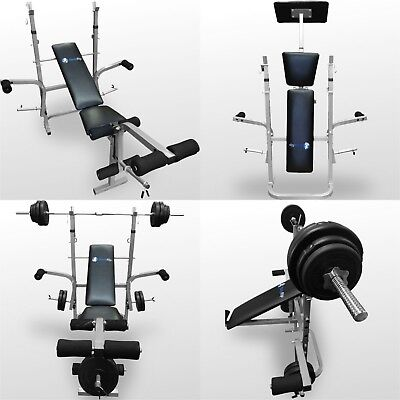 BodyRip Folding Weight Bench Gym Equipment Lifting Chest Press Exercise Fitness  • 199.95£