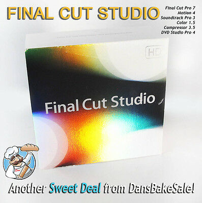 £329.11 • Buy Apple Final Cut Studio V3.0 Retail With Final Cut Pro 7 In Excellent Condition