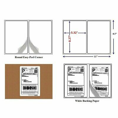 $12.99 • Buy Rounded Corner 200-30000 Thermal Transfer Address Mailing Labels For USPS Amazon