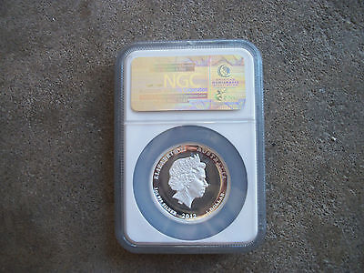 $345 • Buy 2012 P Australia Proof $1 Dragon Coin NGC PF70 CAM 1oz Silver .999 Rare F
