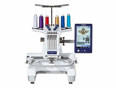 Brother PR670e Industrial Professional 6 Needle Embroidery Sewing Machine • 5,999£