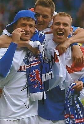 £6.75 • Buy A 7 X 5 Inch Photo Personally Signed By Andy Little When Playing For Rangers.