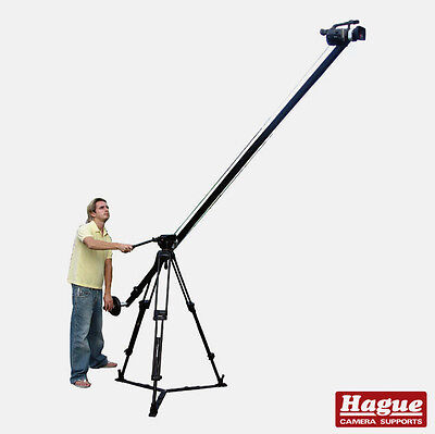 Hague HDV Boom Camera Crane Fluid DSLR Camcorder Jib System For Video Tripods K8 • 409.20£