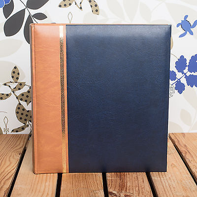 £23.99 • Buy Classic Traditional Royal Blue Photo Album - Fits Any Photo Size Upto 12x10 Inch