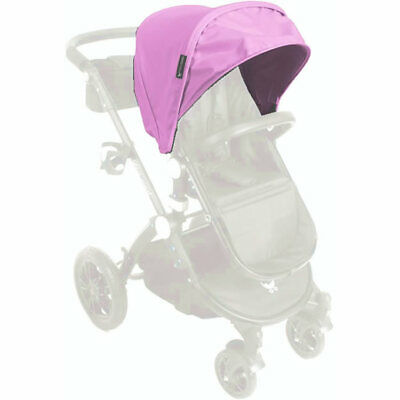 $99.99 • Buy Baby Roues LeTour Leather Canopy With Bassinet Apron, Pink