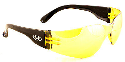 New Shatterproof UV400 Wraparound Clay Shooting Glasses And Free Pouch & Postage • 11.45£