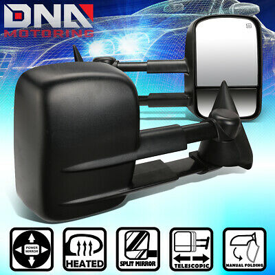 $89.82 • Buy For 1999-2002 Chevy Silverado/GMC Sierra Extendable Powered+Heated Towing Mirror