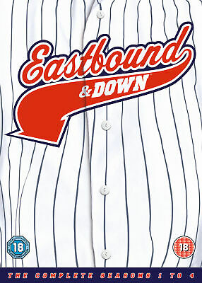 Eastbound And Down - Season 1-4 [2014] (DVD) • 19.99£