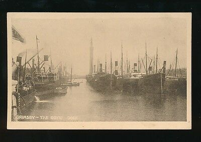 £10 • Buy Lincolnshire Lincs GRIMSBY The Royal Dock Pre1919 PPC