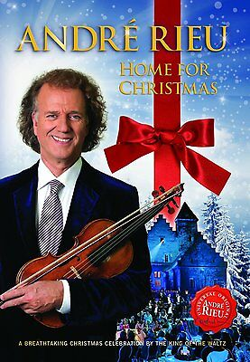 ANDRE RIEU - HOME FOR CHRISTMAS  - DVD - PAL & Region 2 - New • 16.99£