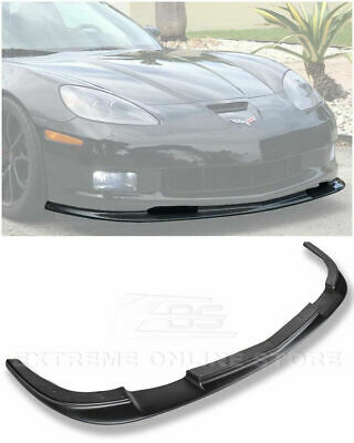 $164.99 • Buy EOS ZR1 Style Front Lip ABS Splitter Bumper For Chevy Corvette 05-13 Z06 C6 Kit