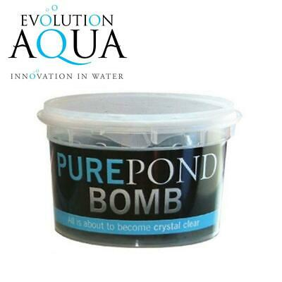 £13.95 • Buy Evolution Aqua Pure Pond Bomb Water Treatment For Clear Garden Pond Fish Filter