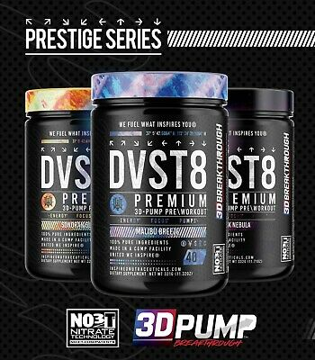 AU53.86 • Buy NEW! Inspired DVST8 Global (DOTU) Powerful Pre-Workout Limited Edition!!! AREZ