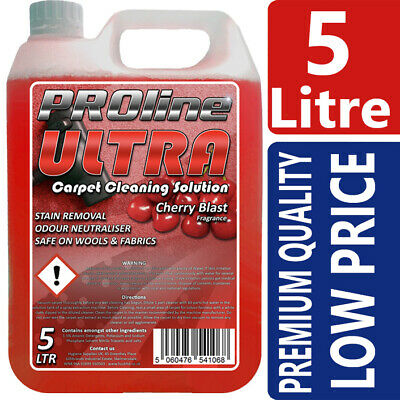 Carpet Shampoo Cleaner,5ltr, Very Cherry,Vax, Rugdoctor, Karcher, Prochem • 15.45£