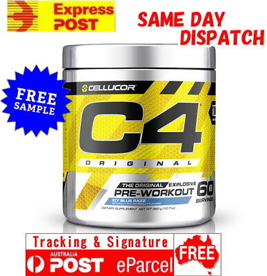 AU98.95 • Buy Cellucor C4 Id Seres 60 Serves Free Express Aus Post Pre Workout All Flavour