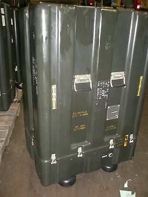 $150 • Buy Hardigg Military Shipping Case Container 31 1/2 X 20 X 48 3/4  High - Foam Lined