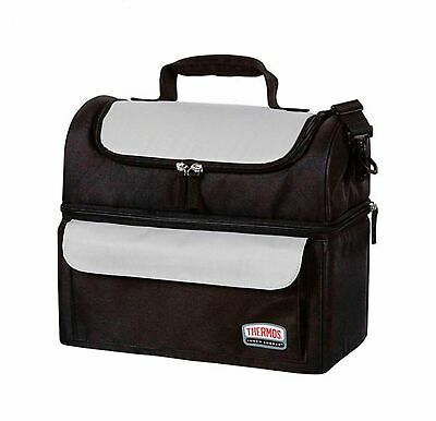 AU39.95 • Buy NEW THERMOS SOFT LUNCH LUGGER Insulated Dual Compartments Bag Carry Picnic
