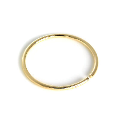 AU17.56 • Buy 9ct Yellow Gold 8mm Nose Hoop Ring 375 Piercing Body Jewellery