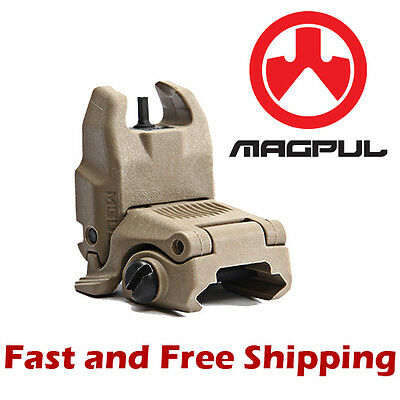 $40.95 • Buy Authentic Magpul Gen2 Back Up Flip Up/Folding Sight MBUS (Front) Flat Dark Earth