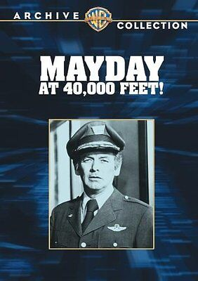 MAYDAY AT 40,000 FEET (1977 David Janssen)-  Region Free DVD - Sealed • 14.99£