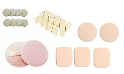 £2.85 • Buy Makeup Cosmetic Sponge Foundation Blending Wedges & Cotton Compact Powder Puff