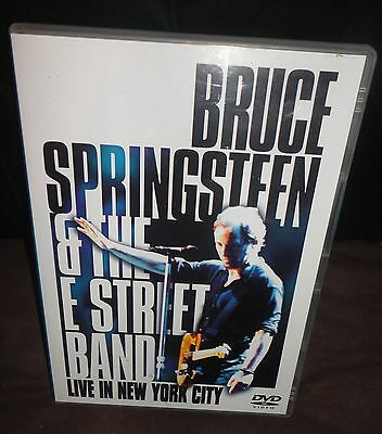 Bruce Springsteen & The E Street Band - Live In New York City (DVD, 2001) • 9.95£