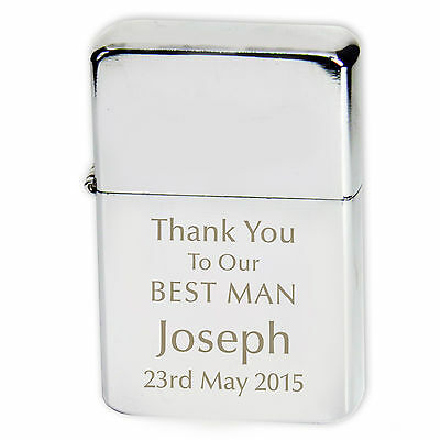 £4.49 • Buy Personalised Wedding Lighter - Wedding Favours, Gifts, Free Personalisation