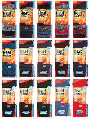 Heat Holders - Mens Thick 2.3 TOG Winter Warm Thermal Socks Size 6-11 Uk • 7.98£