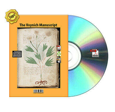 AU3.90 • Buy The Voynich Manuscript  For Your Kindle, Moby,Nok, Android,iPad PDF Book On CD