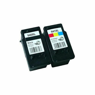 PG-540XL CL-541XL Black & Colour Ink Cartridge For Canon MG3550 MG3600 • 24.95£