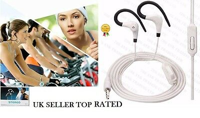 £13.50 • Buy Over Ear Clip Headphone Hook Sports Gym Jogging Running Earphones With Mic C