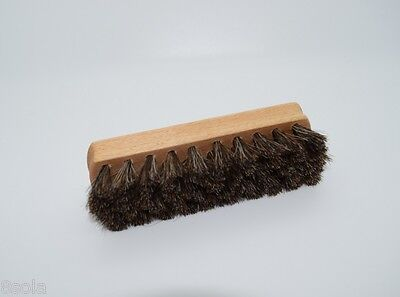 £5.48 • Buy Large Shoe Brush For Polishing Cleaning Ideal For Leather Natural Bristle SB1
