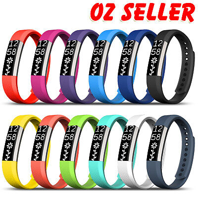 AU3.75 • Buy Premium Replacement Wristband Band Strap For Fitbit Alta / Alta HR Tracker