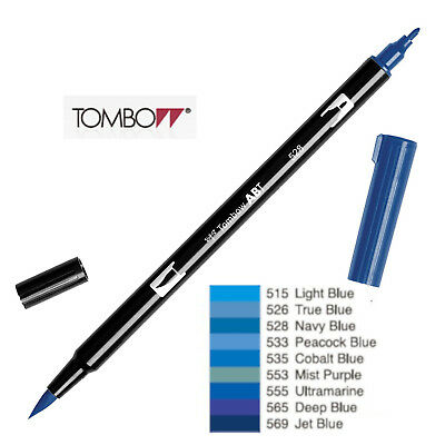 AU5.94 • Buy Tombow Dual Brush Pen  ABT 515 To 569  Blue Violet Shade