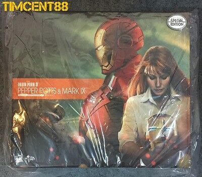 AU805.73 • Buy Hot Toys MMS311 Iron Man 3 Pepper Potts Mark 9 IX Set Special Edition Exclusive