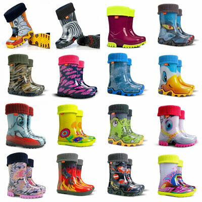 Boys Girls Kids Children Wellington Boots Wellies Rainy Boots Uk Size 4 -2.5 • 10.90£